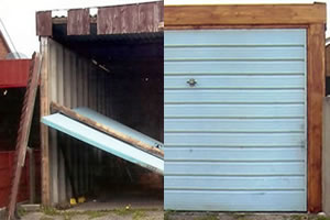 professional garage door repair warrington